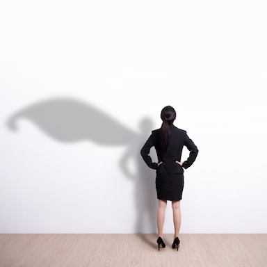 Super business woman, life coach, by healthista.com