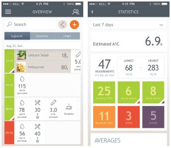 dario app. diabetes. by healthista