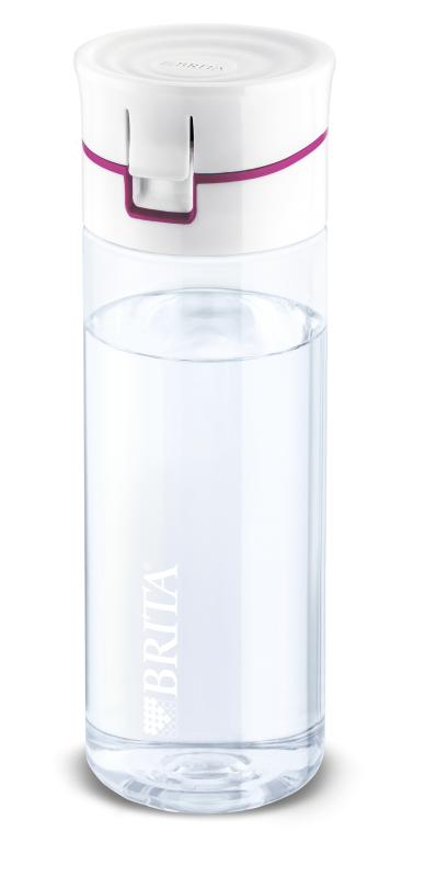 BRITA Fill&Go Pink waterbottle fitness gift guide for Christmas