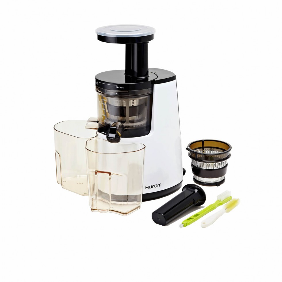 Best Slow Juicer For Greens : REvIEWED: We love Hurum s slow juicer - try this delicious cold-pressed green juice!