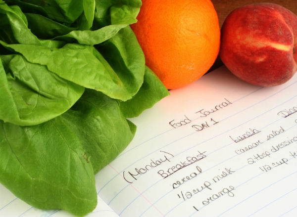 food diary. how to lose 2 stone. by healthista