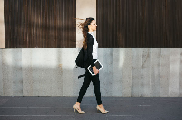take a walk. 10 ways to deal with an anxiety attack. By Healthista