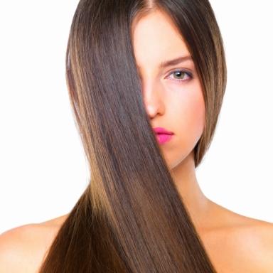 Hair treatment from Olaplex blowdry