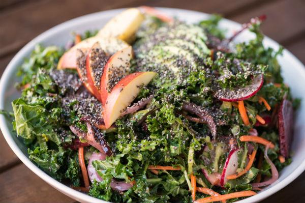 Vegan dinner. December trends. By Healthista
