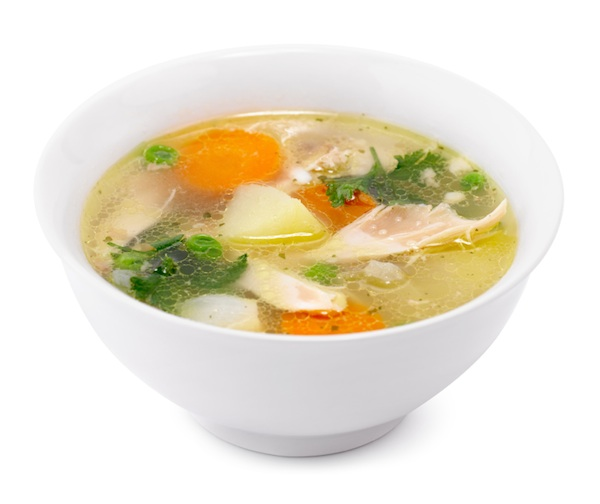 chicken broth, smart guide to drinking, by healthista.com