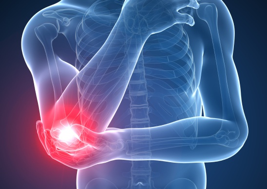elbow joint, common joint problems, by healthista.com