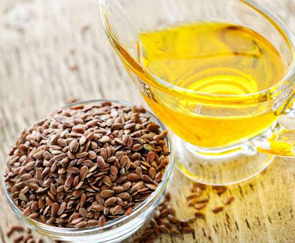 flax seed oil 10 healthy oils. By Healthista