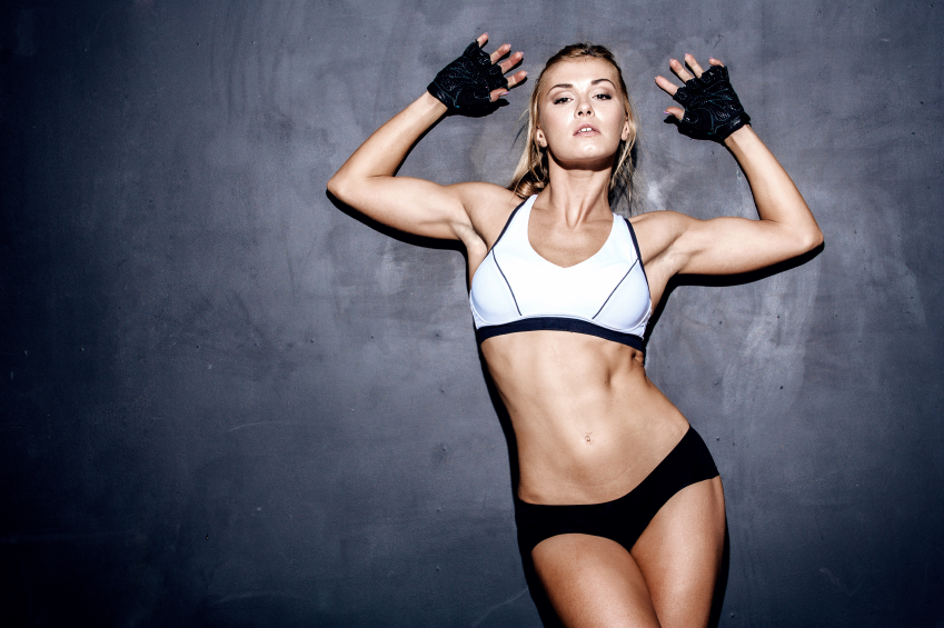 young fitness woman how much protein do we need