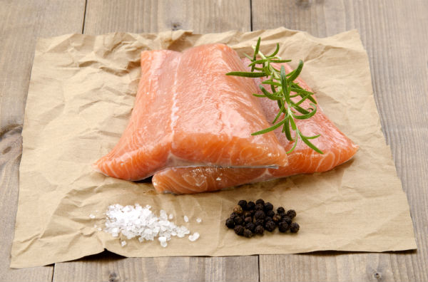 salmon. 10 healthy fats. By Healthista