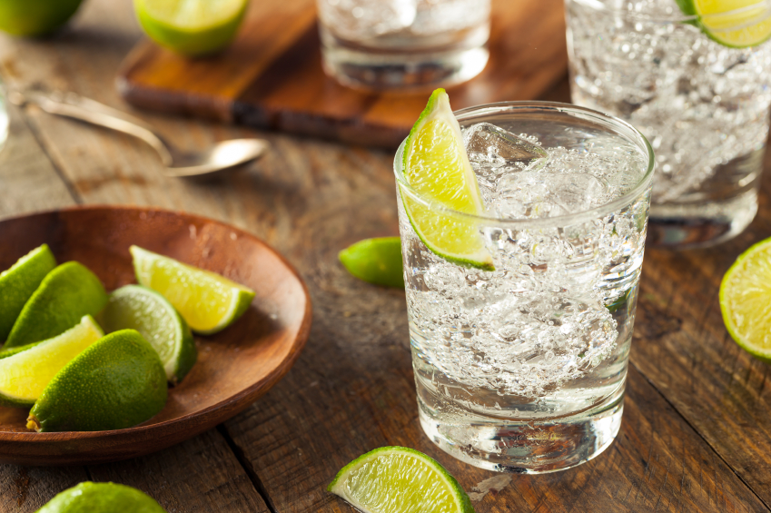 vodka soda lime, smart guide to drinking, by healthista.com