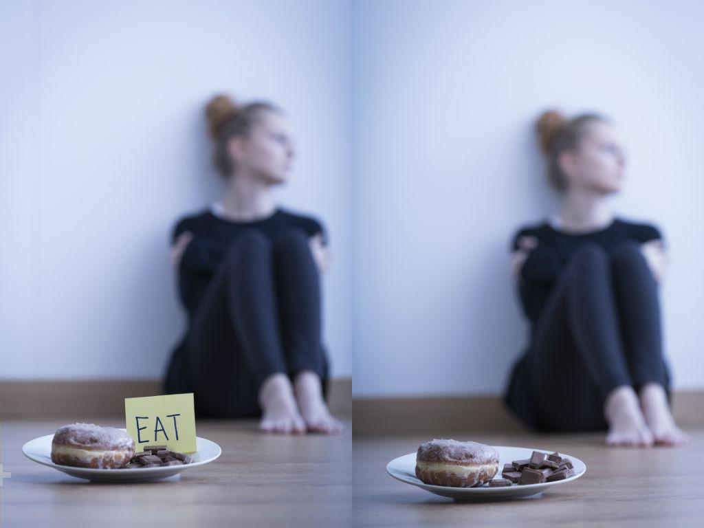 Donut temptation, comfort eating by healthista.com