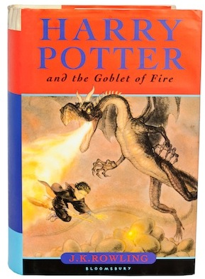 Harry Potter and the goblet of fire, harry potter helped my dyslexia, by healthista