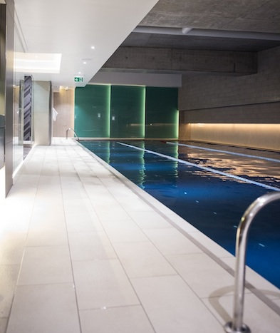 Pool at third space gym, third space, by healthista2