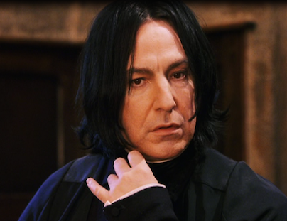 Snape when he first sees Harry, harry potter helped my dyslexia, by healthista