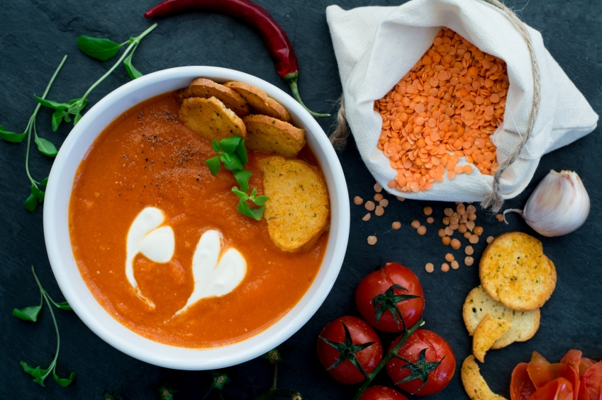 Soup, gluten, post iStock_000070369629_Small
