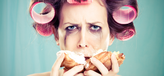 woman-eating-donut-comfort-eating-by-healthista.com