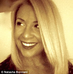 Natasha Borciani, specialises in natural looking make-up.