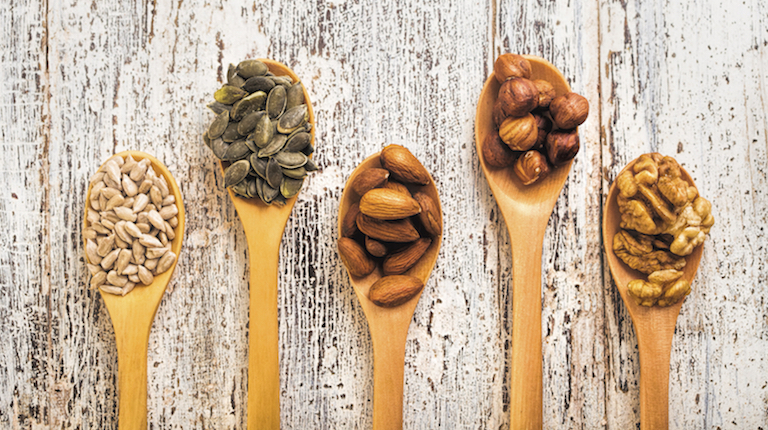 Nuts and Seeds Main Post, 13 Essential Nutrients for a Healthy Heart by healthista.com copy