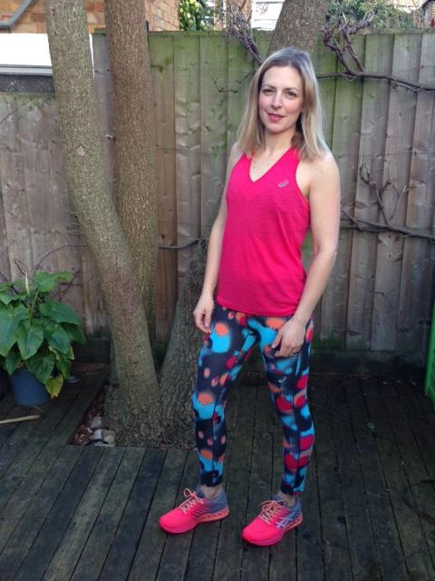 Leggings trainers and tank top, fuzex review, by healthista