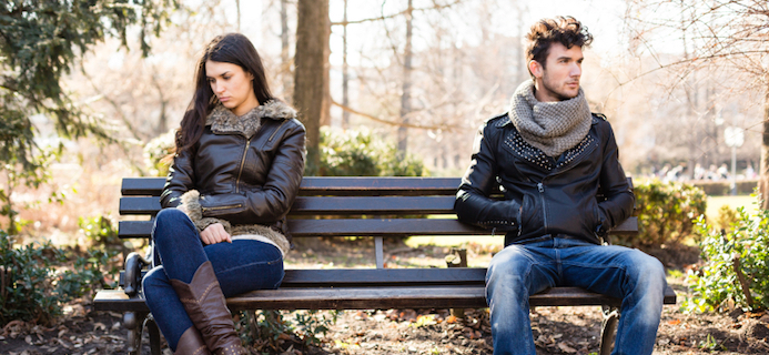 unhappy couple, 5 ways to avoid relationship problems with your lover, by healthista.com