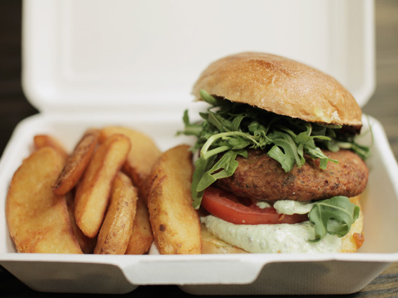 Burger take away, vegetarian resturaunts in london, by healthista