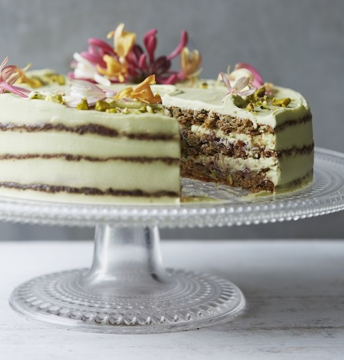 Courgette And Lime Cake Gluten Free