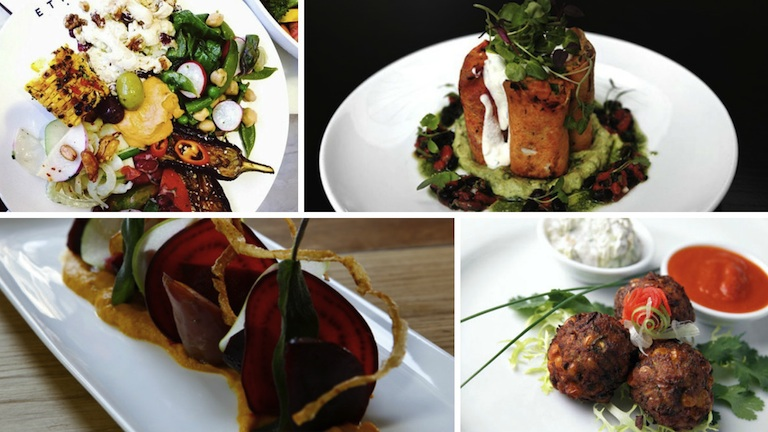 Food pictures, vegetarian resturaunts in london, by healthista