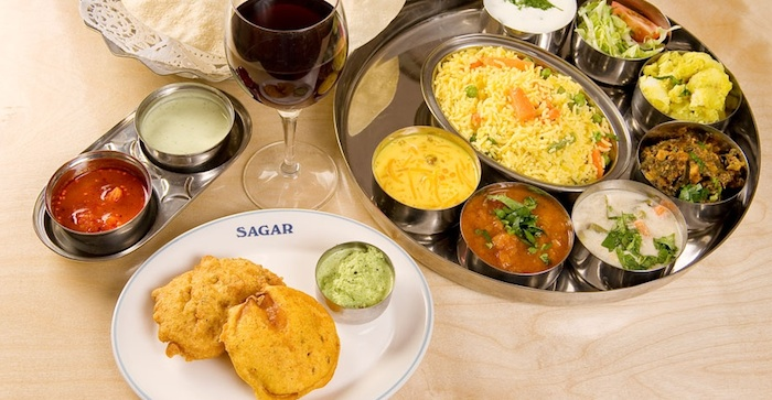 Saga food picture, vegetarian resturaunts in london, by healthista
