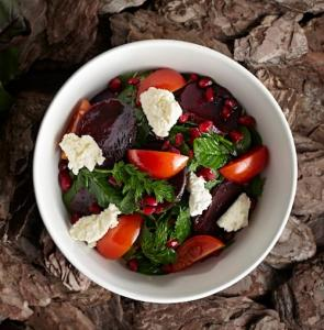 Salad with goats cheese, 8 vegetarian resturants in london, by healthista