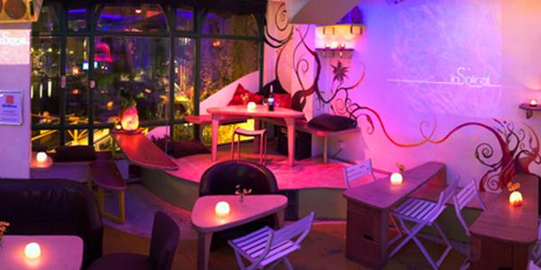 Slide-Restaurant, vegetarian resturaunts in london, by healthista