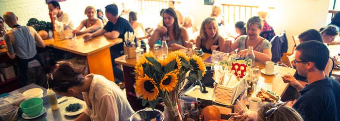 Wild food cafe, vegetarian resturaunts in london, by healthista
