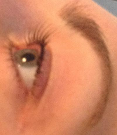 after Nouveau eyelashes LVL treatment by healthista