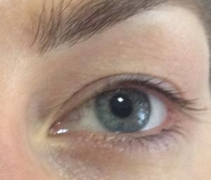 eyelashes before LVL treatment