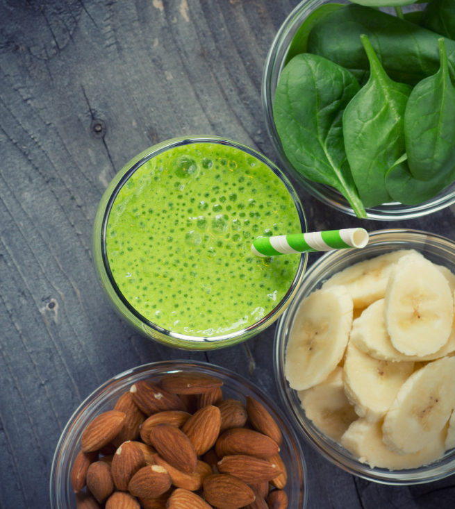 Green smoothie, hemsley diary, healthista