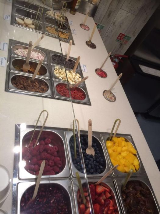 the array of toppings chocolate keetos londons first healthy free from ice cream partlour has opened by healthista