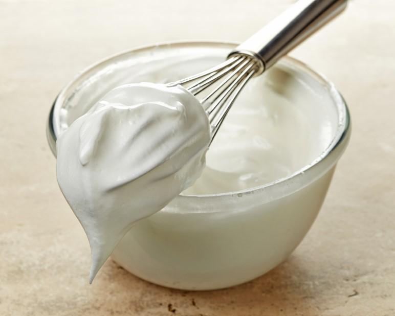 whipped cream, sarah flower, sugar freev