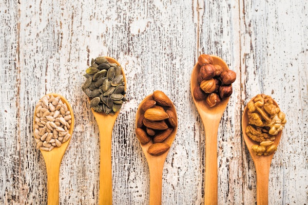 nuts, top 8 foods to boost your energy, by healthista