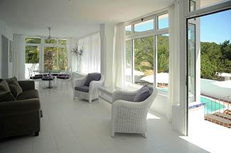 mariposa swimming pool healthy luxury holidays villa by healthista
