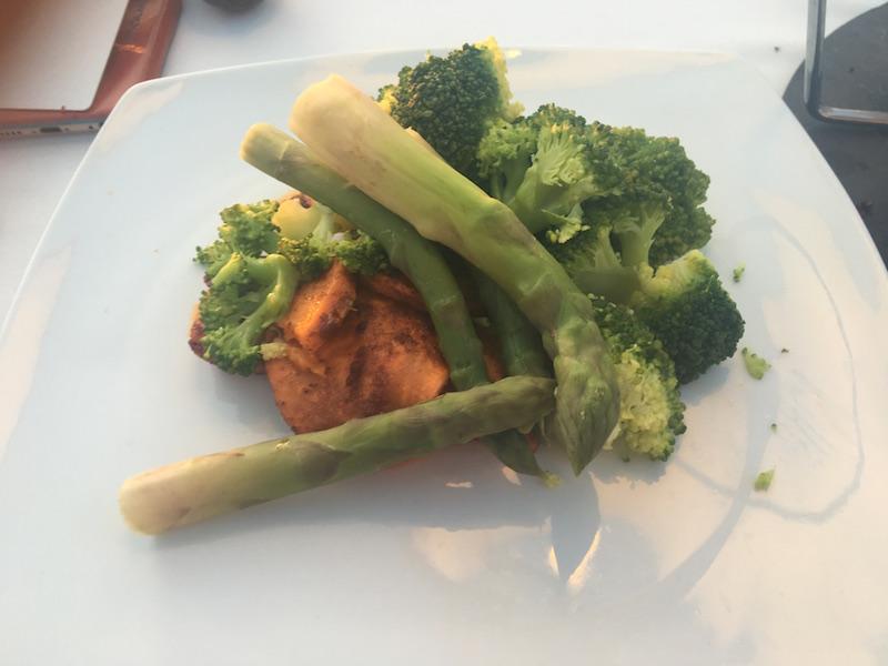 broccoli and sweet potato