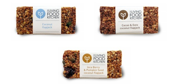 flapjacks, we love the living food kitchen, by healthista