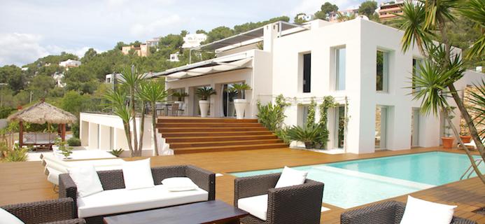 luxury holiday Ibiza Deluxe Villas chic villas healthy luxury holidays by healthista
