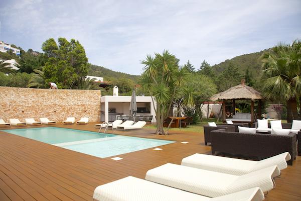 patio healthy holidays with chic ibiza villas by healthista
