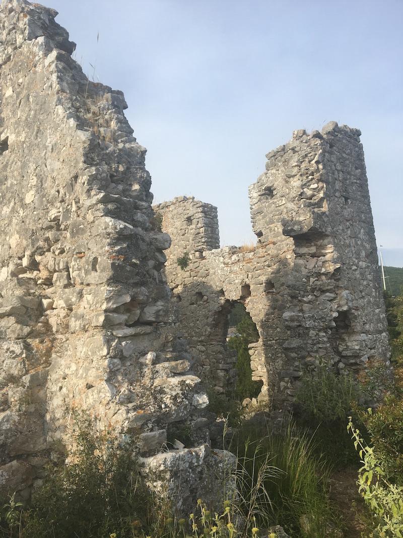 ruins medieval church day 1