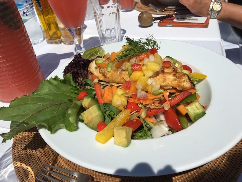 superfood salad chicken