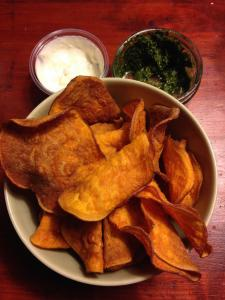 crisps, sweet potato, by healthista.com