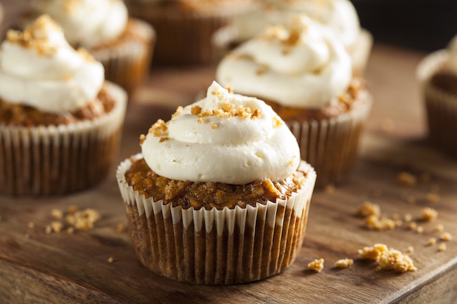 cupcakes, sweet potato, by healthista.com