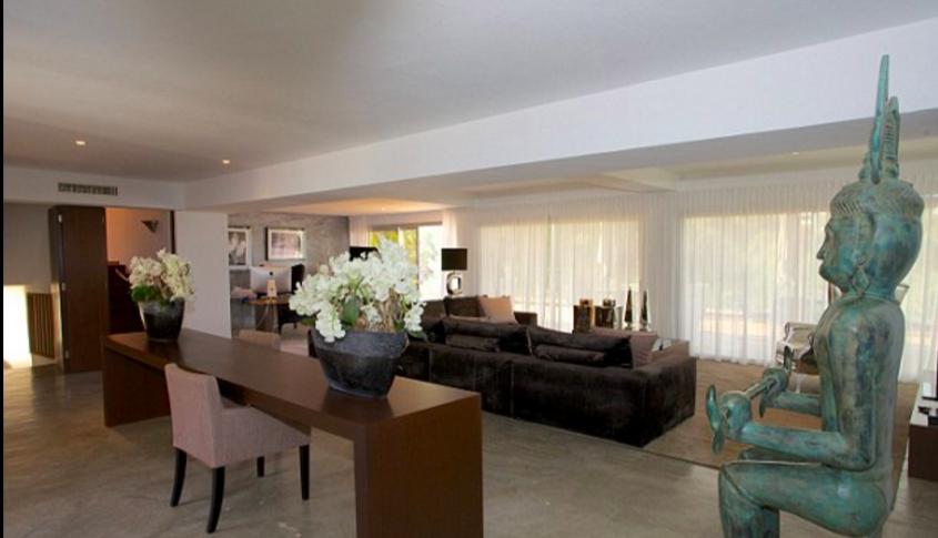 interior of villa skyfall luxury villas chic ibiza by healthista