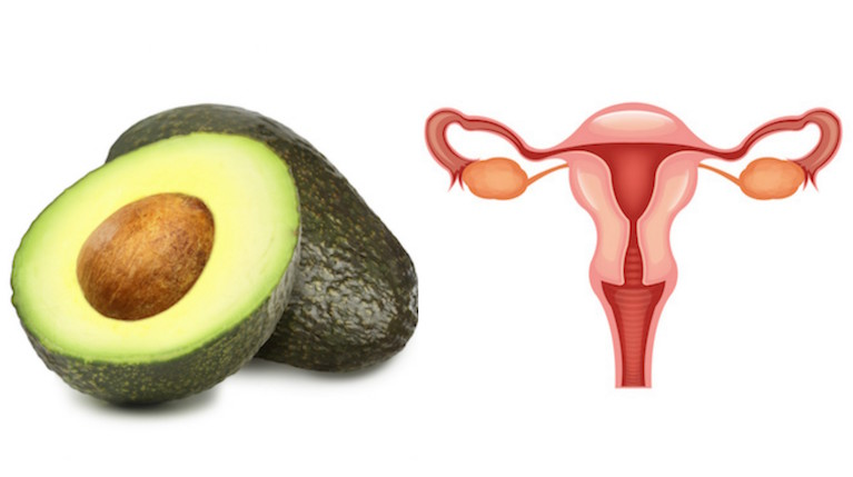 Avocado and Uterus, foods that look like the body part they're good for, by healthista
