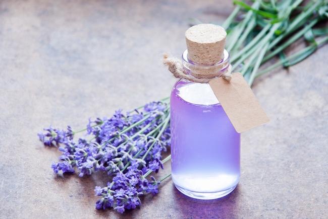 Lavender oil, desert island, by healthista.com