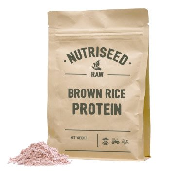 brown rice protein powder vegan nutriseed